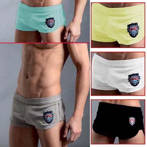 Cotton thread Mens Underwear Boxers Briefs MU208