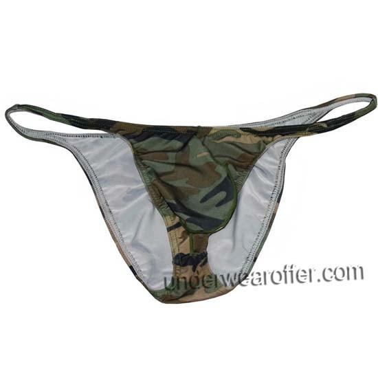 Men Camouflage Trunk Fitness Posing Underwear Hot Beachwear Board Pouch Briefs MU337X