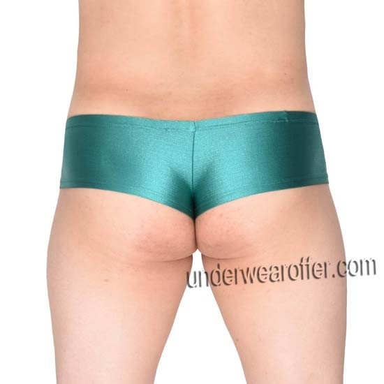 Men's Shiny Stretchy Boxers Thong NFL Underwear Bulge Pouch Sports Micro Briefs MU717