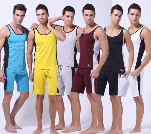 New Fashion 6 Colors Men's Comfortable Undershirt Casual Sports Running Tank Top Shirt Underwear Size S M L MU169