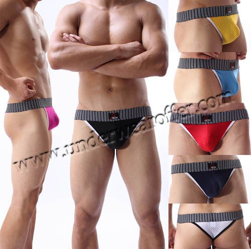 New Sexy Men's Breathable Mini Bikini Briefs Underwear Soft & Smooth Briefs Thong Size M L XL Offer 7 Color Available MU1924