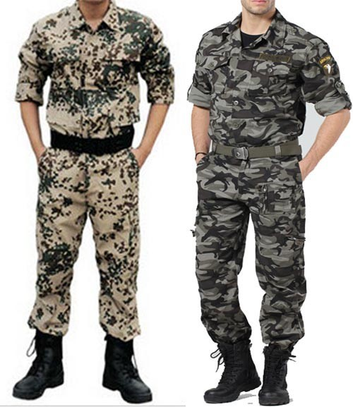 Men's Military BDU Pants & Coat Army Cargo Fatigue Camouflage Camo Uniform MU570