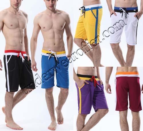 Men's Causal Shorts GYM Workout Sports Lounge Wear Medium Jogging Fifth Pants MU1853