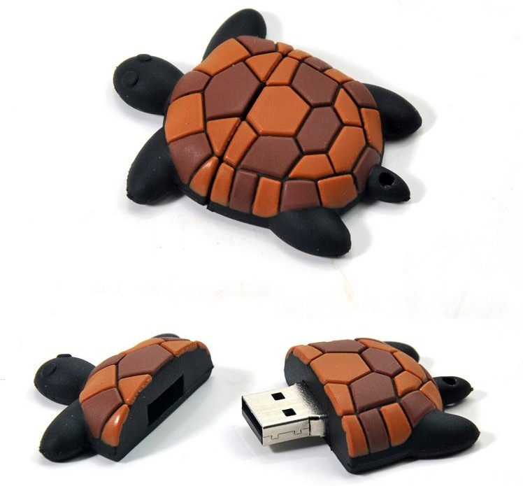 Cute Tortoise USB Driveflash Memory Pen Drive 8GB/16GM/32GB EU15