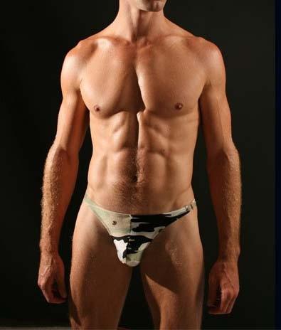 Men's Camouflage Underwear mini briefs shorts MU47