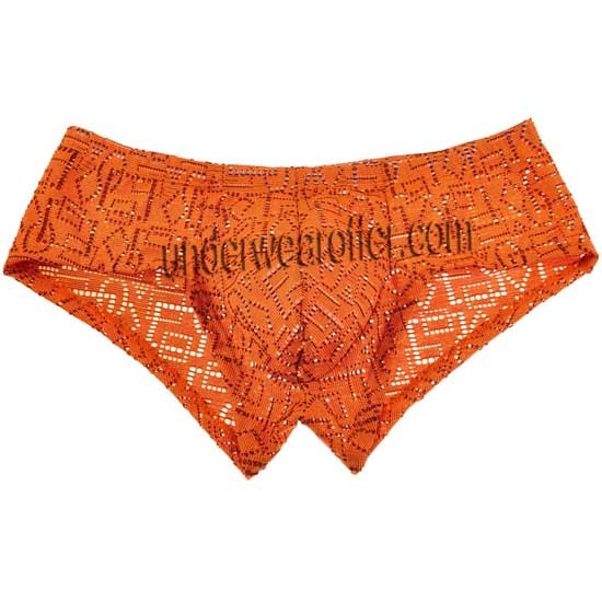 Sexy Men Hollow Pattern Bikini Boxer Briefs Underwear Jacquard Mini Trunks Pants MU616