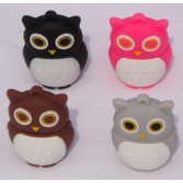 Coloful Cute OWL Shaped 8GB/16GB/32GB Memory Stick Animal Flash Pen Drive USB Drive EU67
