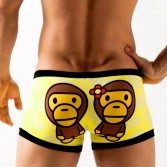 Cartoon Monkey Men's Underwear boxer  shorts  KT10