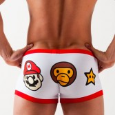 Cartoon Mario Men's Underwear boxer  shorts 3 Size KT24