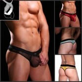 Sexy Men'S See-Through Underwear Thong String  MU124