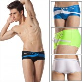 ZOD Men's Sexy Swimwear Trunk Boxers Shorts MU19