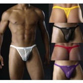 Sexy Mens big Mesh Underwear G-string Thong MU73