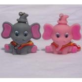3D Cute Elephant Shaped 8GB/16GB/32GB USB Flash Memory Stick Key Chain Pen Drive EU65