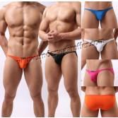 Men Bikini Swimwear Swimsuit Beachwear Underwear Smooth & Thin Mini Swim Briefs Size S M L MU950