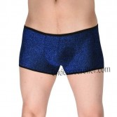 Shiny Men's Cheeky Booty Boxers Bluge Pouch Thong Pants Male Soft Boxers short MU606