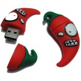 Sad Chilli8G/16GUSB Memory Stick Flash Pen Drive Bitter Red Chillies EU04