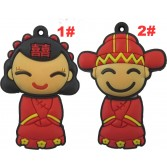 Nice Bride Figure USB Memory Flash Drive Bridegroom Figure Pen Drive 8GB/16GB/32GB EU46