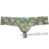 Men Cheek Boxer Tanga Underwear Bulge Pouch Micro Thong Boxer Slip Mini Lingerie  MU778