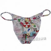 Sexy Men Micro Tanga Pants Mens String Shiny Bikini Cotton Briefs Male Underwear MU14N