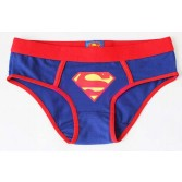 New women' girls Underwear Superman shorts Blue KT27