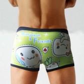 New Manjukun Men's Underwear boxer  shorts 3 size KT40