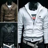 Men's Slim Designed Coat Jacket Size S~XL 4 Color MU1003