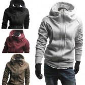 Men's Stylish Slim Jackets Coats 4 Size 4 Color MU1018