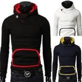 Men's Stylish Slim Fit Jackets Coats Hoody 4 Size 4 Color MU1025