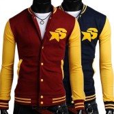 Men's Stylish Slim Fit Jackets Coats Hoody 4 Size 2 Color MU1030