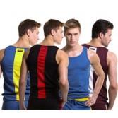 Sexy Mens Fashion Tank Tops Vests Undershirt Wife Beater Sport T-Shirts MU153 S M L