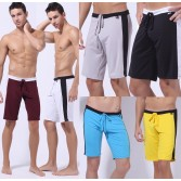 Multi-Color  Men's Rope Short Loungewear Pants Underwear Gym Casual Sports Running Fifth Trousers Size S M L MU167
