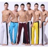 Men's Comfortable Long Loungewear Pants  3 Size S M L Gym Casual Sports YOGA Running Trousers Underwear 6 Colors MU168