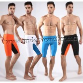 Sexy Men's Super Smooth Fitness Boxer Brief Sports Trunks Casual Shorts Cropped Pants Trousers Asia Size M L XL Offer 4 Color Available MU1927
