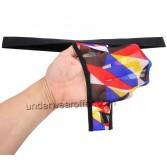 Sexy Men Bikini Body T-Back Underwear Bulge Pouch Elastic Soft Micro Thong Pants MU256X