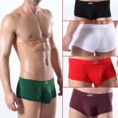 Mens Modal Low Rise U-Briefs underwear Boxer Brief With Bulge Pouch MU305 M L XL