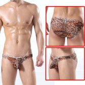 U-Briefs Sexy Leopard Men's Small Mesh Underwear Briefs MU314 M L XL