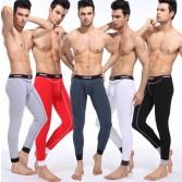 NEW Fashion Men's Cotton Thermal Set  Bottom Underwear  Long John 5 Colors Asia Size M L XL XXL MU364