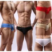 Sexy Men's Super Smooth & Thin Silky Soft Briefs Underwear Mini Bikini Boxer Briefs Asia Size M L XL MU369