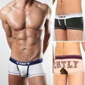 U-Briefs Sexy Men's Cotton Underwear boxer brief shorts MU817 XS S M