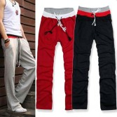 Korean Men's Jogging Jogger Casual Trousers 5 Size MU874