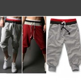 Korean Men's Jogging Jogger Casual Cropped Shorts 5 Size MU876