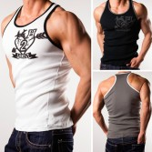 New Fashion Sexy Men's Underwear Tank Top MU878