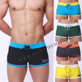 Cool Men's Boxers  Swimwear Boxers Shorts Comfy Swimming Trunks MU948