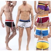 Fashion Men's Loungewear Pants Casual Jogging Sports Trunks Soft Shorts MU1854 S M L XL Trunks