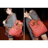 Girl Vintage Casual Canvas Backpack Travel Bags PU1201