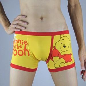 Cartoon Winnie Men Underwear boxer Size M~XL KT72
