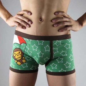 Cartoon Parachute men's Underwear KT82