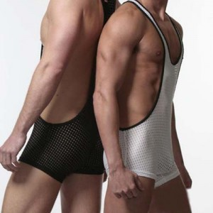 Sexy Men Stretch Underwear Bodysuit MU134
