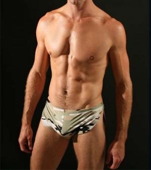 Sexy Men's Sports Underwear boxer brief shorts  MU52