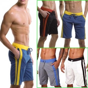 NEW Causal Shorts GYM pants Men's Causal jogging Sports pants MU149  S M L XL